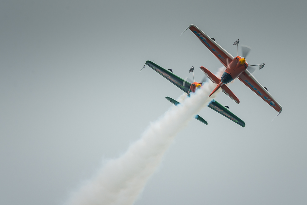 Disney's Planes with the Matadors, Eastbourne Airshow 2013