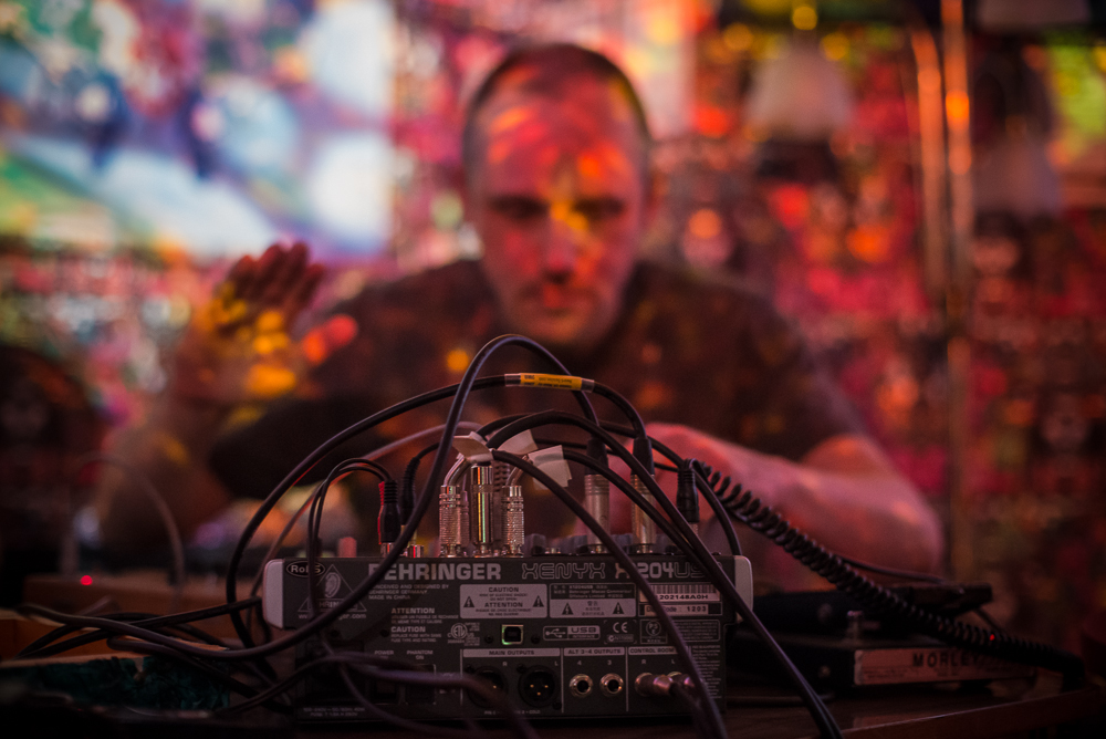 Hassni Malik and Nicholas Langley, Synthesize Me, Hotel Pelirocco, Brighton, 15.02.2014