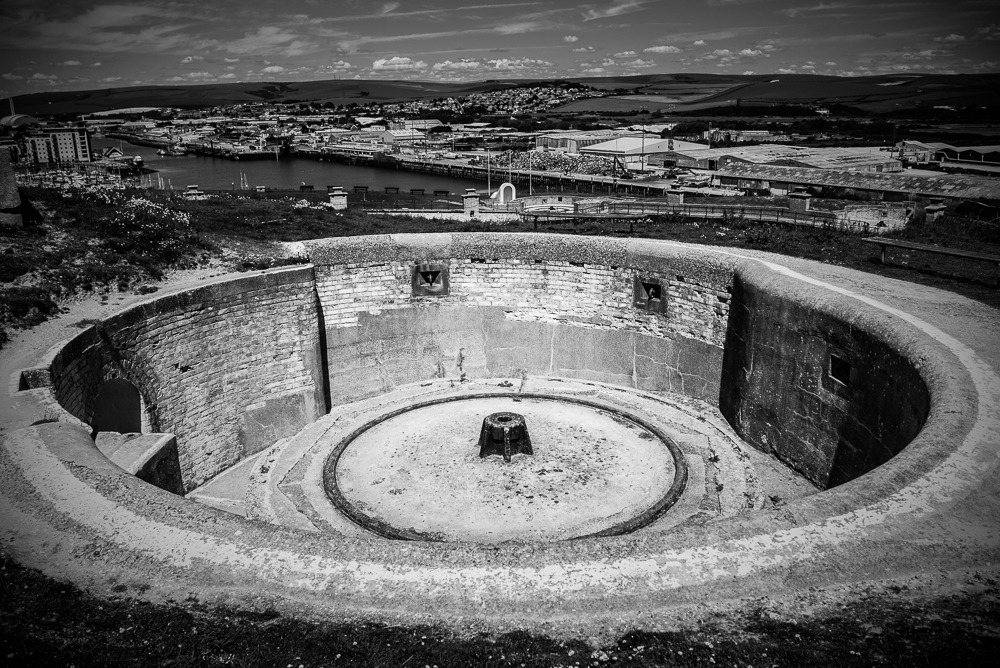 Newhaven Fort and surroundings