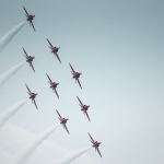 Red Arrows, Eastbourne Airshow 2013