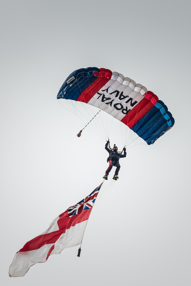Royal Navy Raiders Freefall Team